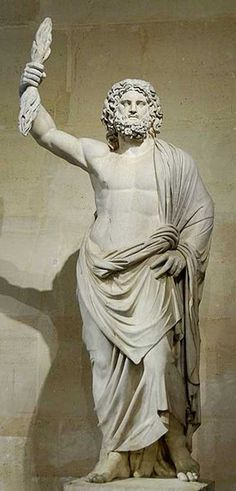 Zeus facts, information and stories from ancient Greek mythology. Learn about the Greek god of the sky and king of the gods, Zeus. Greek And Roman Mythology, Greek Gods And Goddesses, Zeus Greek, Sculpture Romaine, Ancient Greek Religion, Zeus Jupiter, Zeus Statue, Art Romain, Steinmetz