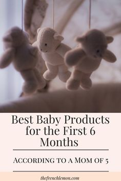 After five kids, I've been through my share of great products and some not-so-great products. Here is my list of the best baby products to make your life with baby the first six months just a little bit easier!
