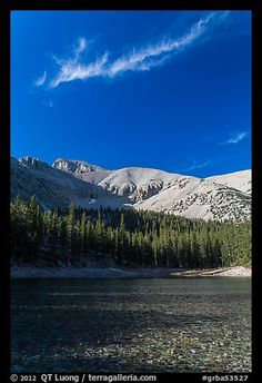 Teresa Lake. Great Basin National Park, Nevada