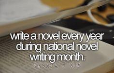 I shall do this!