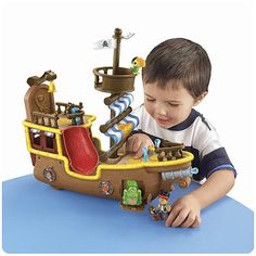jake and the neverland pirates toys | Jake and the Neverland Pirates Musical Pirate Ship Bucky | Toy Tracker
