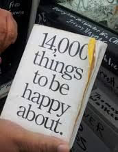 14,000 things to be happy about (from Twitter)