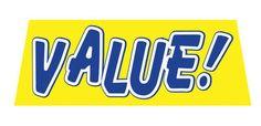 VALUE Car Dealer Windshield banner sign - Click Image to Close