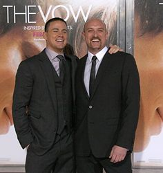 Michael Sucsy and Channing Tatum at an event for The Vow (2012)