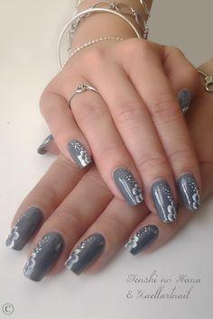 One Stroke nail design