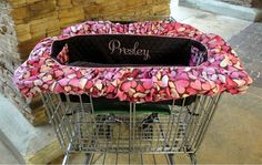 This is so cool... Shopping Cart Cover for Dogs  Custom Colors  by rendachs, $56.00