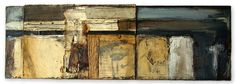 """""""I Was Afraid and so I Hid"""" Triptych Panel 1"""