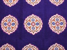 Gorgeous block-printed fabrics from India