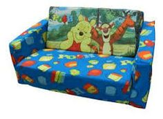 kids winnie the pooh pull out couch
