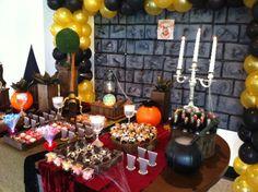 Decoração de festa do Harry Potter