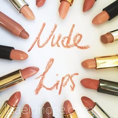 Lisa Eldridge Make Up | Video | How to find and wear the perfect Nude Lipstick for you!