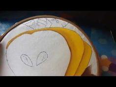 Pintura en tela niña pera # 4 con cony - YouTube