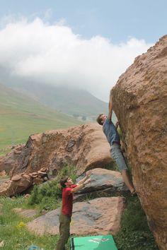 Bouldering Morocco imik'simik Oukaimeden