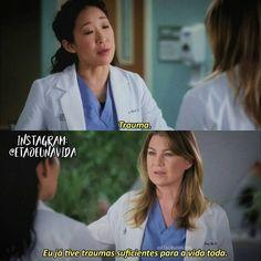 Greys Anatomy Memes, Grey Anatomy Quotes, Grays Anatomy, Cristina Yang, Delena, Gossip Girl, Movies And Tv Shows, Cardio, Tv Series