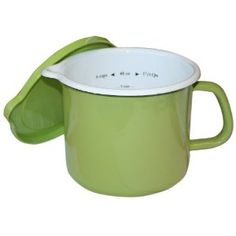 Reston Lloyd Stock Pot - inside MEASURE, cook, easy POUR & store w/ lid. I must be dreaming.