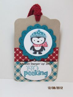 My Happy Stamping Place: More Two Tags projects