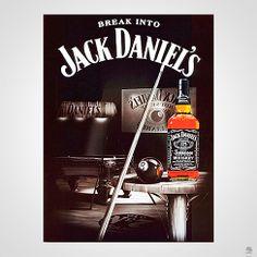 PLACA JACK DANIEL'S SINUCA