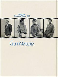 GIANNI VERSACE | Catalogo # 2  Collezione Uomo Primavera/Estate 1982 (Retro)