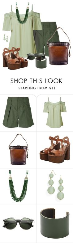 """""""Untitled #441"""" by ana-kreb ❤ liked on Polyvore featuring LE3NO, Gucci, Jagga, Crispin and CÉLINE"""
