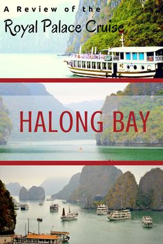 Halong Bay is a must see when visiting Vietnam. Check out the cruise options for visiting Halong Bay, as well as a full review of the Royal Palace Cruise.