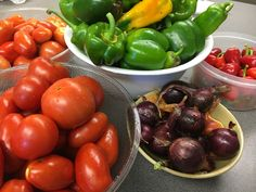 From the Monkton School garden and onto the Fresh Fruit and Veggie Bar.