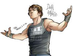 Dean Ambrose2 by XimeniSHA