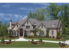 European House Plan with 4991 Square Feet and 4 Bedrooms(s) from Dream Home Source | House Plan Code DHSW68377
