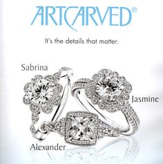 ArtCarved Bridal & Engagement Rings - Summer 2015 Collection from Rogers & Hollands Jewelers
