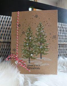 Magical Scrapworld: Thinking of you at Christmas, cards.  catalogue 2017-2018, christmas, season like christmas, Stampin' Up!