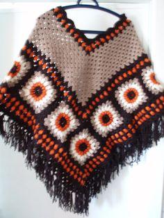 Hippie+vintage+style+crochet+beige+brown+rusk+ivory++by+krittenart,+$59.00