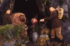 Sesamstrasse-Samson und Tiffy in ihrer Höhle