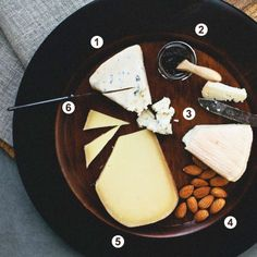 6 Holiday Cheese Plate Tips (food styling and photography by @Ashley Walters Rodriguez)
