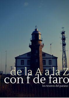 Con F de Faros. Asturias. Los Tesoros del Paraíso. De la A a la Z (Miss Lavanda)