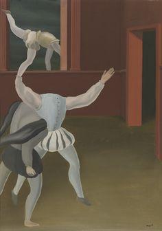 PANIEK IN DE MIDDELEEUWEN 1927 René Magritte :