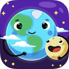 Information About Space, Interesting Information, Ipod Touch, Ipad, Funny Cartoon Movies, Constellations, Solar System For Kids, Mobiles For Kids, Ciel Nocturne