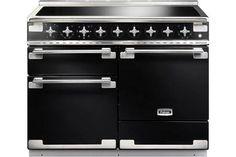 Buy The Rangemaster Elise 110 Induction Black Range Cooker 100320 From CookersAndOvens At A Fantastic Price. Induction Range Cooker, Electric Range Cookers, Dual Fuel Range Cookers, Electric Oven, Black Range Cooker