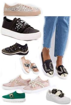 NOw on the blog the embellished sneakers you just got to have! Love shoes  with 7731cfc78