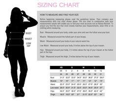 womens dress size chart - Google Search