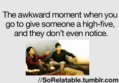 So true, it happens so often.