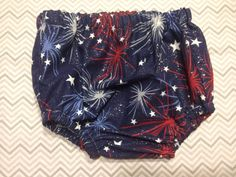 July 4th Diaper Cover by kissedwithcreativity on Etsy, $12.00