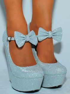 dots blue gold studded wedge heels - Google Search