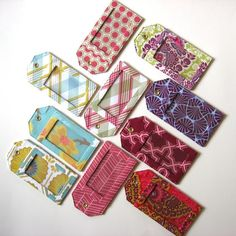 Sewing: How to make luggage tags
