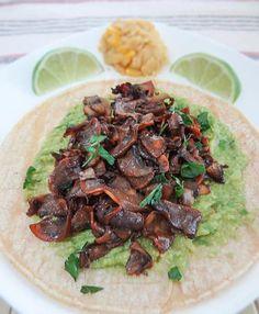 How To Make Taco Recipe : Setas Taco Recipe - Mushroom Tacos