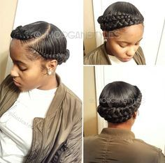 Pin La Shauna On Hair In 2019 Halo Braid Curly Hair Styles with size 1186 X 1176 Halo Braid Hairstyles - Braids won't walk out fashion. Black Girl Braids, Girls Braids, Girl Hairstyles, Braided Hairstyles, Black Hairstyles, Hairstyle Braid, Wedding Hairstyles, Braided Updo, Protective Hairstyles