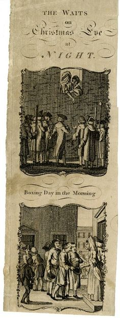 The Waits on Christmas Eve at Night / Boxing Day in the Morning, 1770-1800. British Museum 1896,0501.1627
