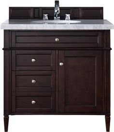 "James Martin Furniture Brittany 36"" Bathroom Vanity"