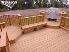 Looking for a plan for the back deck... like the smaller octagons for the grill