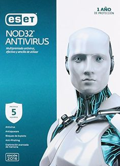 Software: Eset Nod32 Antivirus V9 V2016, 5 Licencias Eset https://www.amazon.com.mx/dp/B017A15FZQ/ref=fastviralvide-20