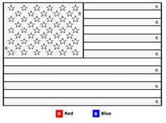 miss liberty american flag color by letter fun kids coloring page