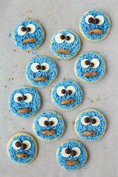 Spoonful of Flour: Cookie Monster Cookies